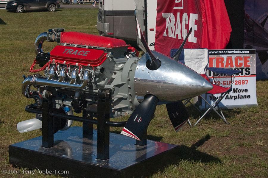 V8 Aircraft Engine