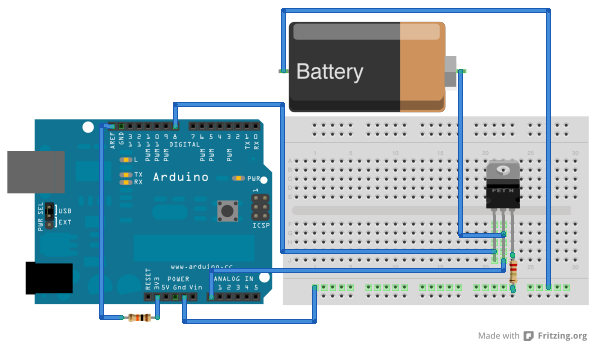 Arduino battery capacity tester « Memory Leak